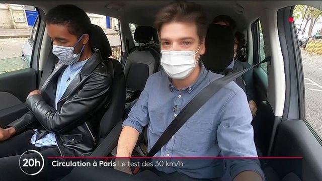 Paris : la capitale à l'épreuve de la limitation à 30km/h