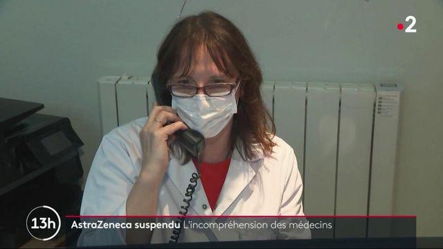 Suspension du vaccin AstraZeneca : les médecins redoutent une plus grande méfiance des Français