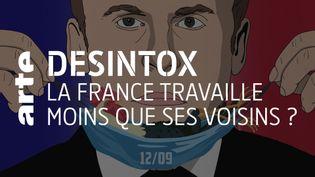 Désintox. Non, les Français ne travaillent pas moins que leurs voisins européens (ARTE/2P2L)