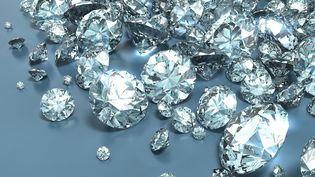 Des experts russes ont dévoilé en septembre 2012 l'existence d'une mine secrète en Sibérie qui contiendrait des réserves gigantesques de diamant. (MARK EVANS / THE AGENCY COLLECTION / AFP)