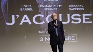 """Le producteur Nicolas Seydoux après l'avant-première du film """"J'accuse"""" de Roman Polanski à Paris, le 4 novembre 2019. (THOMAS SAMSON / AFP)"""