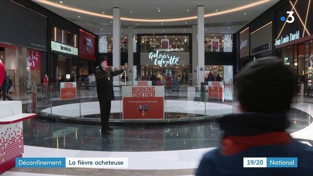 Déconfinement : les centres commerciaux font le plein