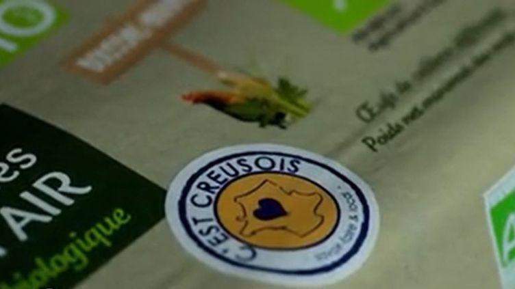 """Des commerçants de Creuse ont lancé le label """"C'est Creusois"""" pour promouvoir leurs produits du terroir. Du savon à la motte de beurre, ces produits locaux peuvent désormais s'acheter sur un site internet dédié. (CAPTURE ECRAN FRANCE 2)"""