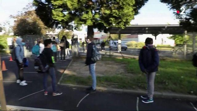 Collèges : reprise sous surveillance pour les élèves et les enseignants