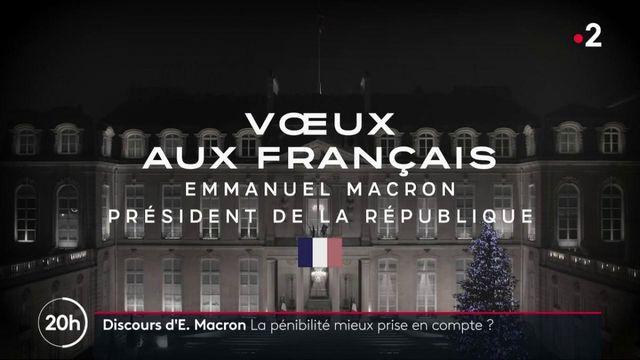 Vœux d'Emmanuel Macron : une avancée autour de la pénibilité ?