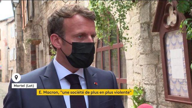 Emmanuel Macron sur les retraites
