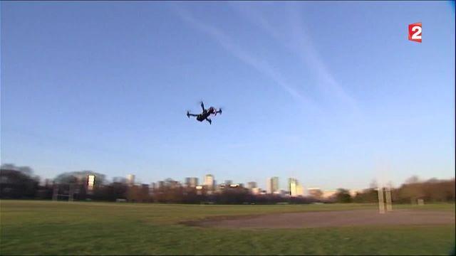 Sécurité : la France veut limiter la prolifération des drones