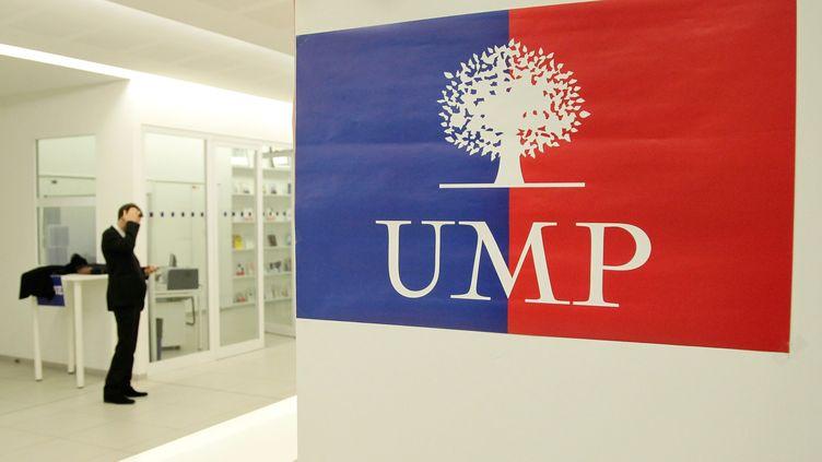 Au siège de l'UMP, rue de Vaugirard (Paris),le 22 novembre 2012. (VINCENT ISORE / MAXPPP)