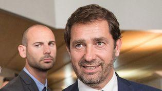 (Christophe Castaner suspend sa campagne après les intempéries © MaxPPP)