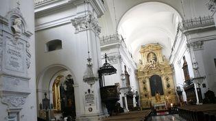Eglise Sainte-Croix à Varsovie dans laquelle est conservé le coeur de Chopin  (WOJTEK RADWANSKI / AFP)