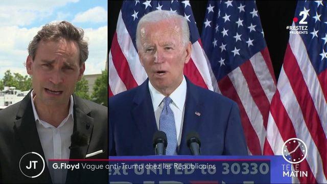 Mort de George Floyd: vague anti-Trump chez les Républicains