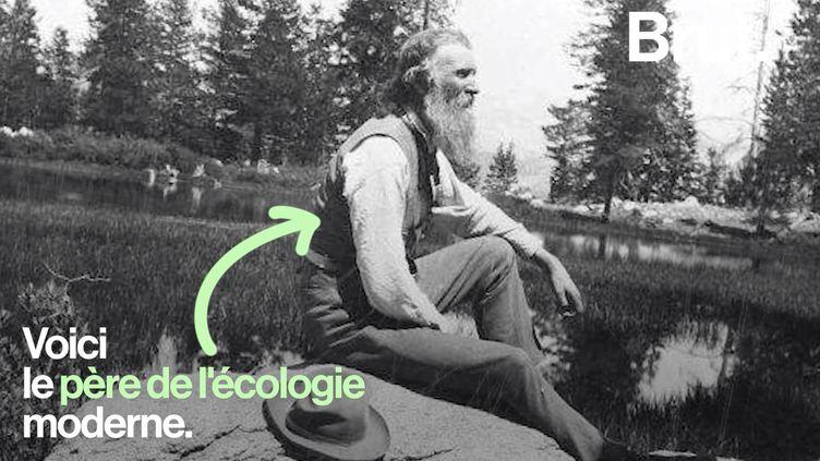 VIDEO. Aventurier solitaire, botaniste passionné… On vous raconte l'histoire de John Muir (BRUT)