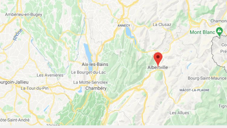 Albertville (Savoie). (GOOGLE MAPS / FRANCEINFO)