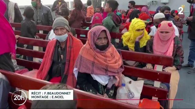 Birmanie : les Rohingyas réfugiés au Bangladesh bientôt transférés sur une île isolée