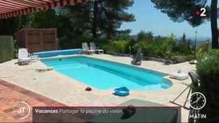 La piscine deRobert Faucheux. (France 2)