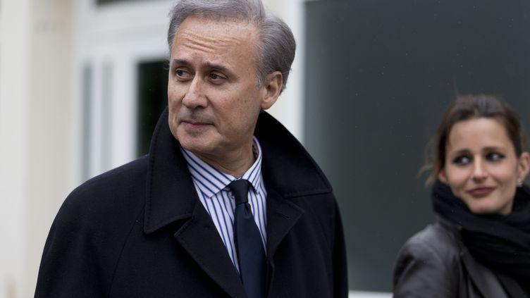 Georges Tron, le 29 mars 2015 àDraveil (Essonne). (KENZO TRIBOUILLARD / AFP)