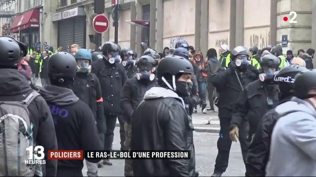 Policiers : le ras-le-bol d'une profession