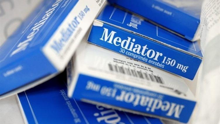 Le Mediator a été retiré du marché en novembre 2009 en raison des risques de valvulopathie qu'il présente. (AFP - Fred Tanneau)