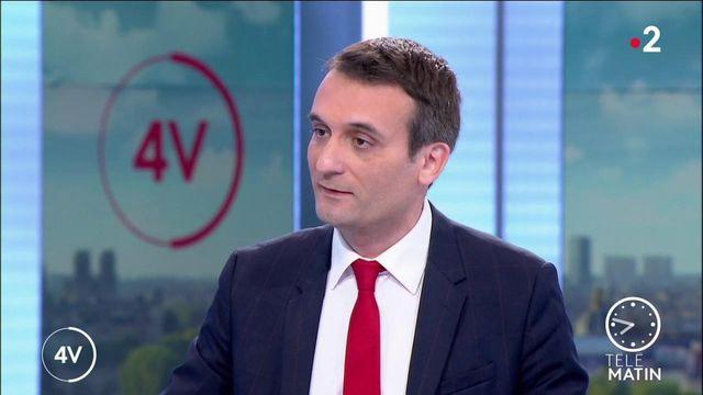 «Emmanuel Macron vise sa réélection en 2022, pour cela il doit tomber contre Marine Le Pen», estime Florian Philippot (Patriotes)