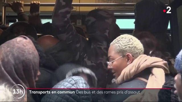 Grève du 9 décembre : des trains et des bus pris d'assaut