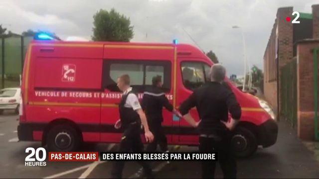 Pas-de-Calais : des jeunes footballeurs blessés par la foudre