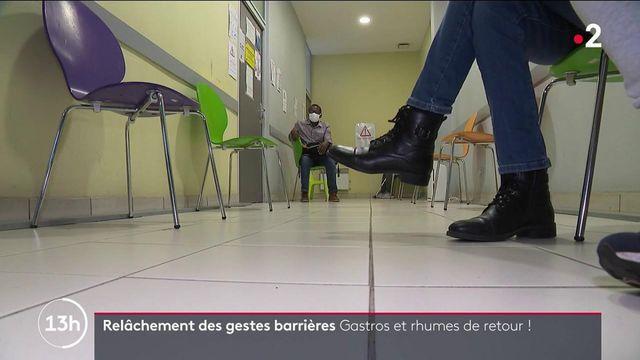Santé : la gastro et le rhume font leur retour en France