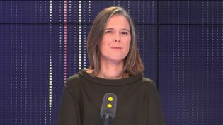 Cendra Motin, députée LREM de l'Isère, invitée de franceinfo le 28 décembre 2018 (FRANCEINFO / RADIOFRANCE)