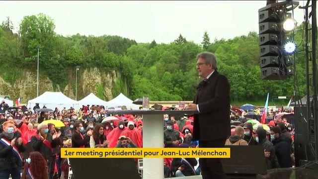 Présidentielle 2022 : premier meeting pour Jean-Luc Mélenchon