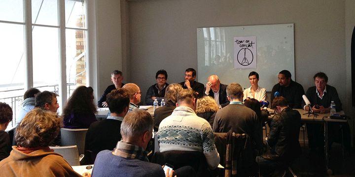 A la conférence de presse du Prodiss mardi 24 novembre 2015 à Paris.  (Laure Narlian / Culturebox)