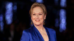 Meryl Streep le 7 octobre 2015 au London Film Festival  (Grant Pollar / AP / Sipa)