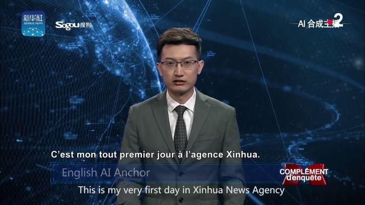 Le journaliste était... un robot (COMPLÉMENT D'ENQUÊTE / FRANCE 2)
