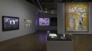 """L'exposition """"Préhistoire une énigme moderne"""", jusqu'au 16 septembre 2019 au Centre Pompidou à Paris. (PHILIPPE MIGEAT / CENTRE POMPIDOU)"""