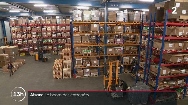 Alsace : le boom des entrepôts