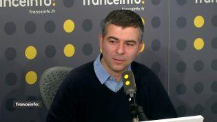 Olivier Lambotte, professeur en immunologie à l'Université Paris Sud, était l'invité de franceinfo vendredi 21 décembre. (FRANCEINFO)