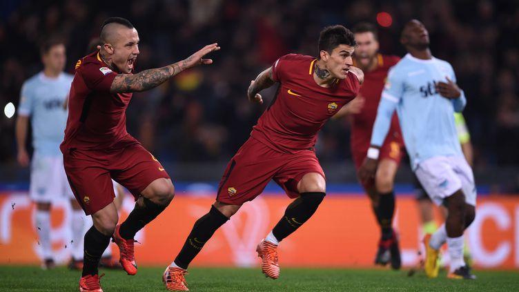 Le derby et le podium pour la Roma