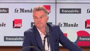 Fabien Roussel, secrétaire national du Parti communiste français et député du Nord, le 19 septembre 2021. (FRANCEINFO / RADIO FRANCE)