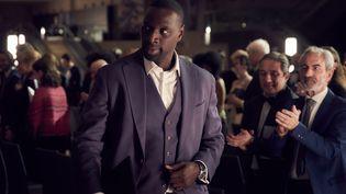 """Omar Sy (Assane Diop) dans l'épisode 1 de """"Lupin, dans l'ombre d'Arsène"""" sur Netflix. (EMMANUEL GUIMIER)"""