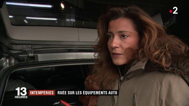 Neige : ruée sur les équipements auto