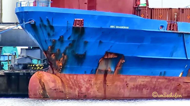 (Le BBC Shanghaï doit transporter des déchets radioactifs australiens © Capture d'écran)