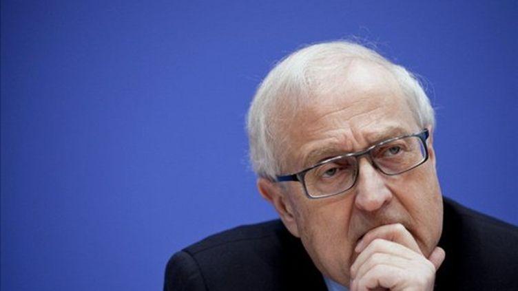 Le ministre de l'Economie allemand Rainer Bruederle (AFP/MICHAEL KAPPELER)