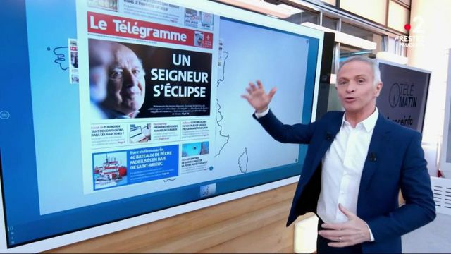 Kiosque à journaux : La presse quotidienne régionale rend hommage à Michel Piccoli
