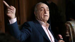 Ziad Takieddine, le 12 avril 2013 à Paris. (JACQUES DEMARTHON / AFP)