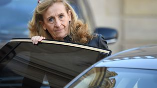 La ministre de la Justice, Nicole Belloubet, à Paris, le 21 novembre 2018. (ALAIN JOCARD / AFP)