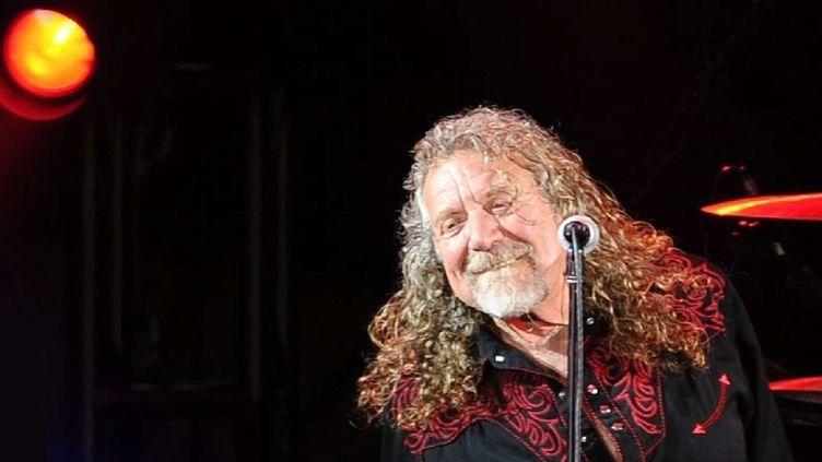 Robert Plant sur scène avec ses Sensational Space Shifters. République Tchèque, Juillet 2016.  (Pavel Nemecek/AP/SIPA)