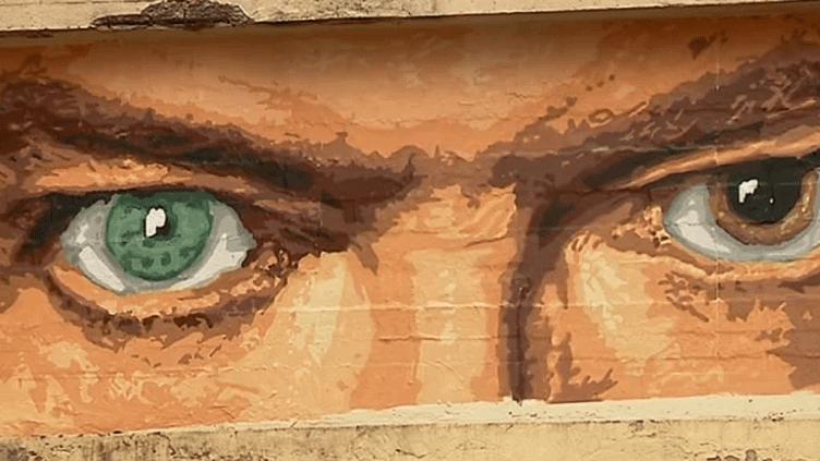 Le regard de David Bowie vu par l'artiste lyonnais Big Ben  (France 3 / Culturebox / capture d'écran)