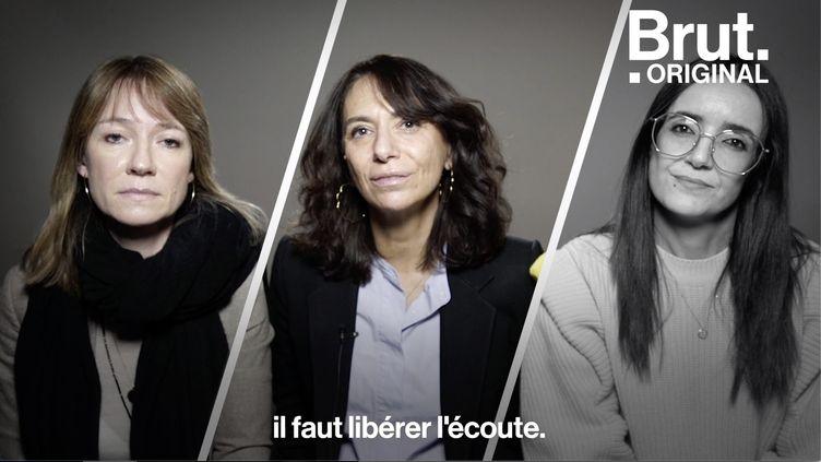 """VIDEO. Violences conjugales : """"Il faut libérer l'écoute"""" (BRUT)"""