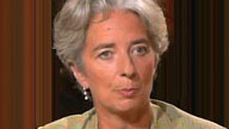 Christine Lagarde, ministre ministre de l'Economie et des Finances (© France 2)