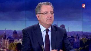 Le secrétaire général de La République en marche, Richard Ferrand au journal de 20 heures de France 2,le 11 mai 2017 (FRANCE 2)