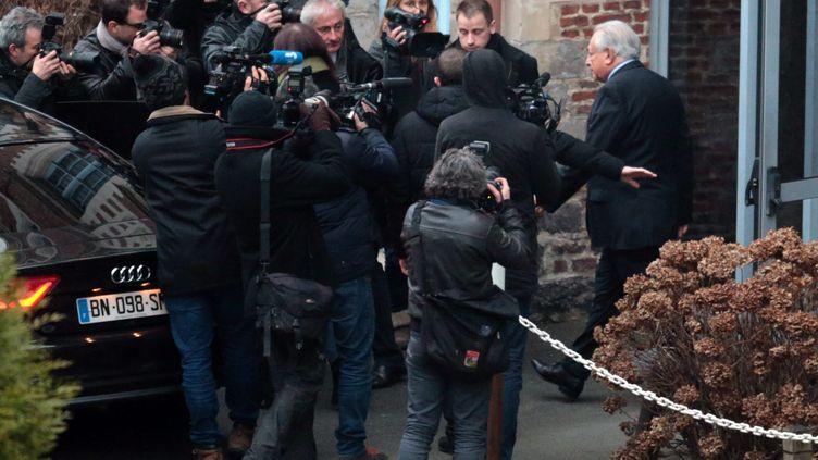 (Pendant trois semaines, DSK a été au centre de l'attention médiatique © maxppp)