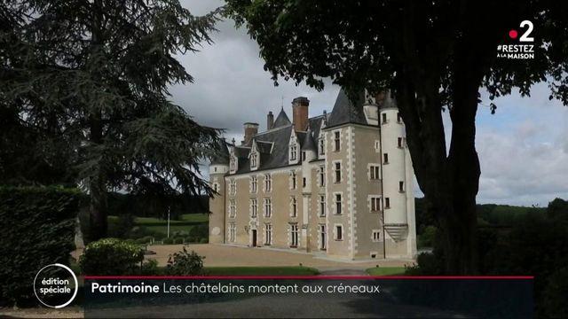 Confinement : des châteaux désertés mais entretenus